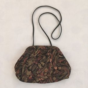 Vintage abstract tapestry bag purse